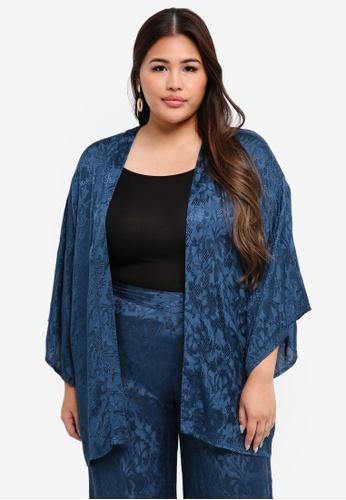 Junarose blue Plus Size Saliraz Kimono C8250AAE0BB8E6GS_1