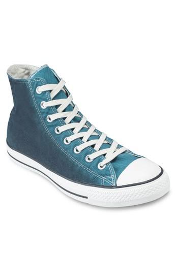 Chuck Taylor All Star 漸層水esprit 手錶洗高筒帆布鞋, 女鞋, 鞋