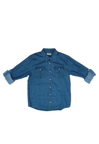 FOX Kids & Baby blue Kids Boy Long Sleeve Shirt C4B95KA97642B3GS_1