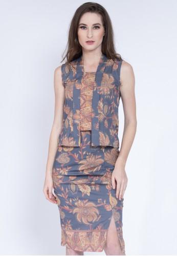 KICHI BATIK blue Setelan Batik Hasta Set 566E1AAE952048GS_1