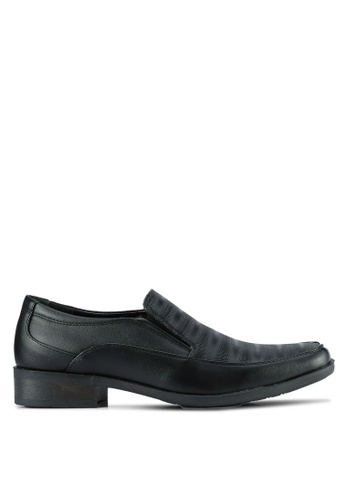 Louis Cuppers black Sip On Dress Shoes LO977SH0S9S2MY_1