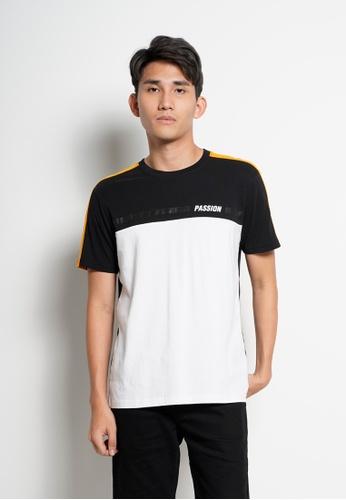 Hi Style black Graphic Short Sleeve T-Shirt 9DE68AAFF9B605GS_1