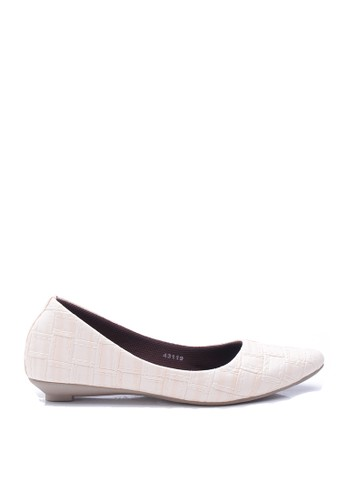 Dr. Kevin Women Flat Shoes Slip On 43119 - Cream