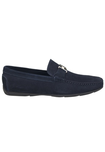 Tomaz blue Tomaz C031 Buckled Loafers (Navy) B0EC6SHFD2DB12GS_1