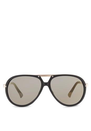 Cesprit sgASSIDY 磨砂框飛行員太陽眼鏡, 飾品配件, 飾品配件
