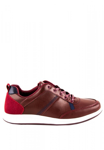 Otto red Men's Sneakers OT407SH0JDLEPH_1