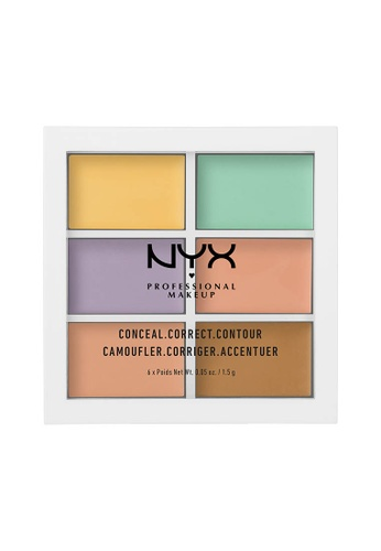 NYX Professional Makeup multi NYX Professional Makeup Color Correcting Palette 6ED73BEEA4B8F2GS_1