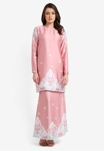 JubahSouq pink Alexa Kurung JU399AA0RV2HMY_1