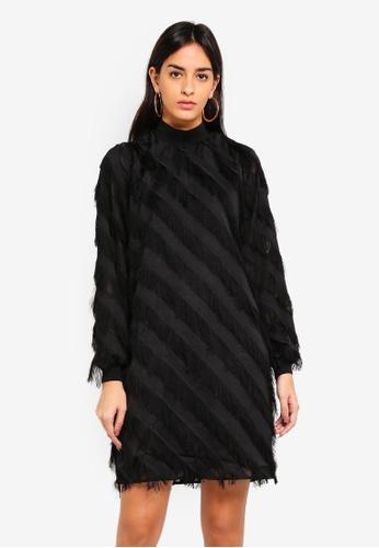 Y.A.S black Dia LS Dress BD6B8AA9F7649CGS_1