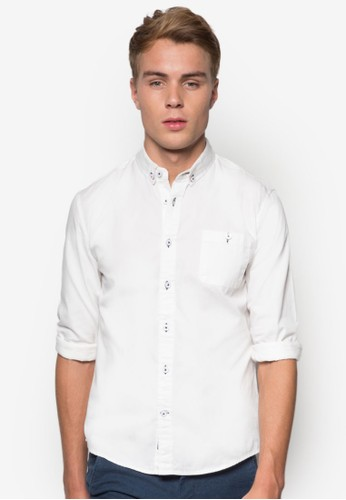 簡約長袖襯衫,esprit暢貨中心 服飾, 襯衫