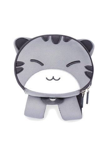 Nohoo grey Nohoo Kids Backpack Little Kitten (Grey) BC265KCD2E28FAGS_1