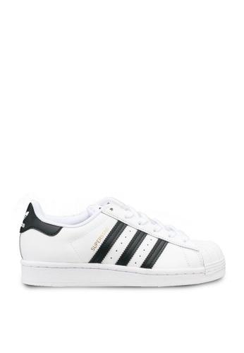ADIDAS white superstar j shoes BC23BKS773756CGS_1