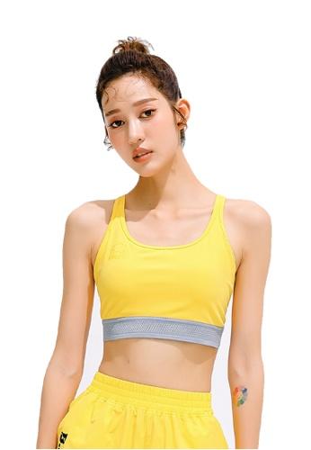 B.Duck yellow B.Duck Women Training Sports Bra 82643USA7386D7GS_1