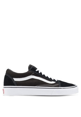 VANS black and white Core Classic Old Skool Sneakers VA142SH90BQJSG_1
