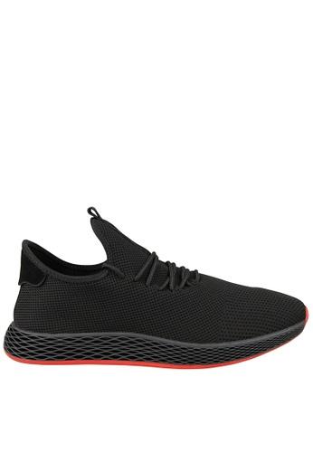 Tomaz black Tomaz TR290 Running Sneakers (Black) 4AB3ASHA9C73B8GS_1