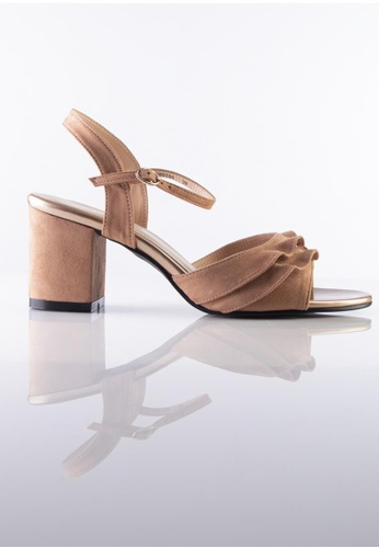 Stilaré Stilaré Alana Ruffle Shoe in Nude 1B4BESH701A636GS_1