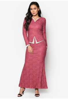 Baju Kurung Moden Lace - Vercato Alice