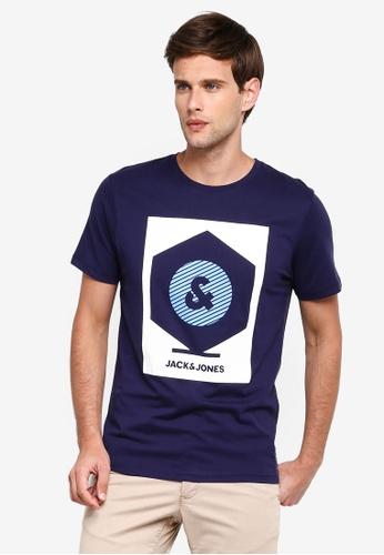 e74bd5545e Buy Jack & Jones Box Print Tee Online on ZALORA Singapore