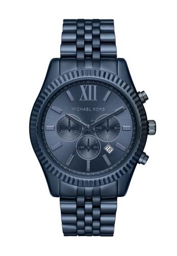 MICHAEL KORS blue Lexington Watch MK8480 8562AAC20074CEGS_1