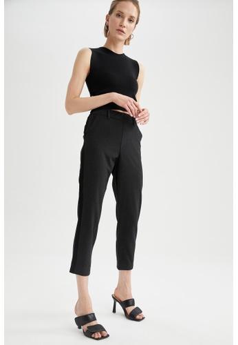 DeFacto grey High Waist Trousers D4F3CAA3D81FFAGS_1