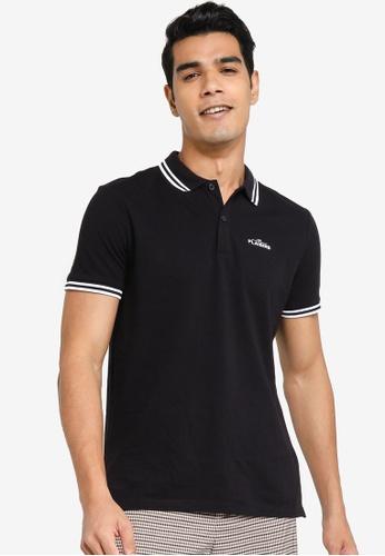 H&M blue Polo Shirt Slim Fit 1123EAAD710571GS_1