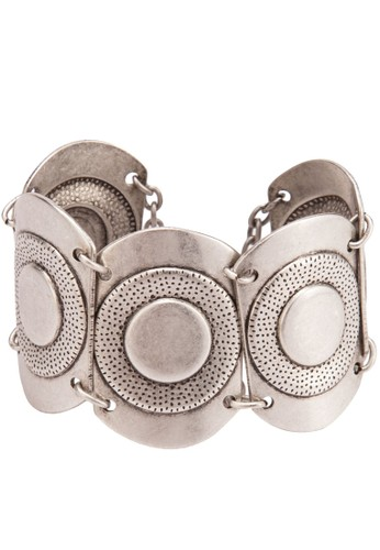 不銹鋼牌飾造型手鐲, 飾品配件, 飾zalora 鞋評價品配件
