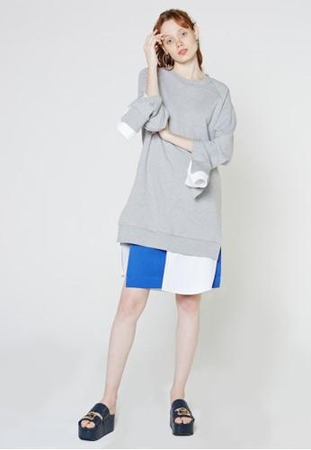 長袖衫連esprit 香港身裙, 服飾, 洋裝