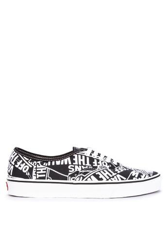 Vans black and multi OTW Repeat Authentic Sneakers 3F2D2SH86361F9GS_1
