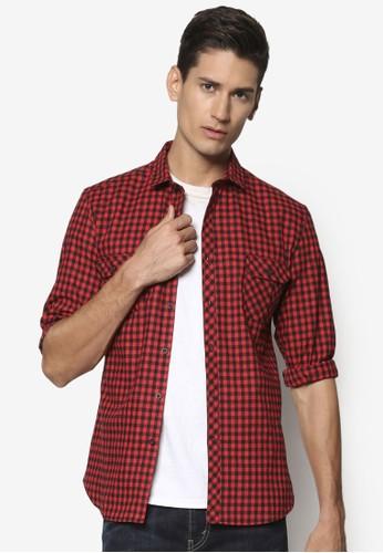 JAXON Checked Long Sleeve Shirt