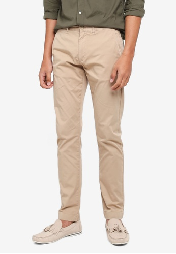 J.Crew brown Garment Dyed Light Weight Stretch Chino Pants F0861AA24CE2C1GS_1