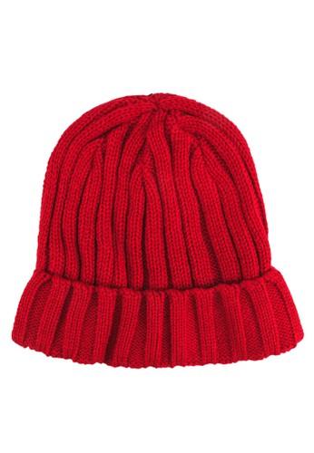 針織毛zalora 順豐帽, 飾品配件, 毛線帽