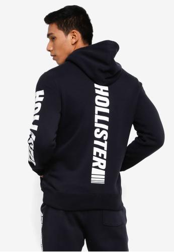 Hollister 黑色 LOGO針織毛衣 67684AA5B5ACCFGS_1