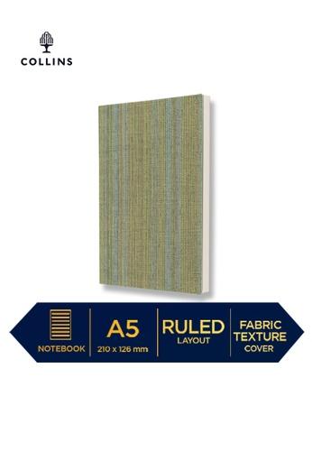 Collins green Collins Sense   ─  Notebook A5 Ruled Green F1DBFHLD812F67GS_1