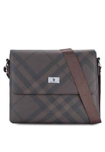 Swiss Polo brown Swiss Polo Messenger Bag SW912AC11XFSMY_1
