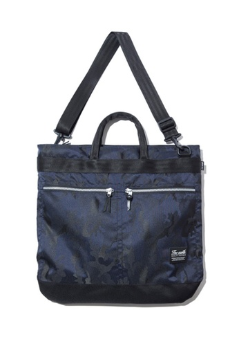 The Earth navy J.Q HELMET BAG - NAVY TH763AC91VZCHK_1