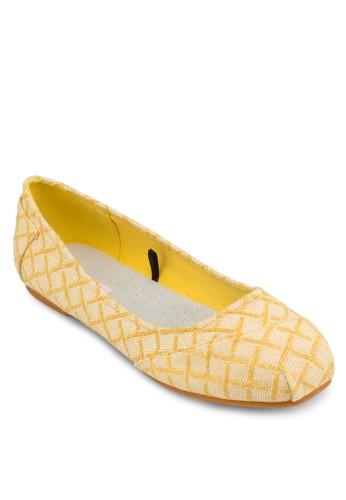 Nayarit 幾何圖形esprit taiwan平底鞋, 女鞋, 芭蕾平底鞋