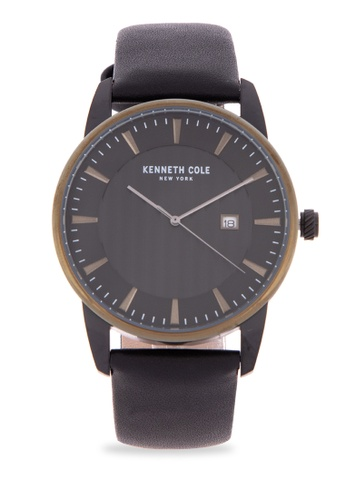 a5855781a17 Shop Kenneth Cole Men s Quartz Stainless Steel and Leather Casual Watch  Online on ZALORA Philippines
