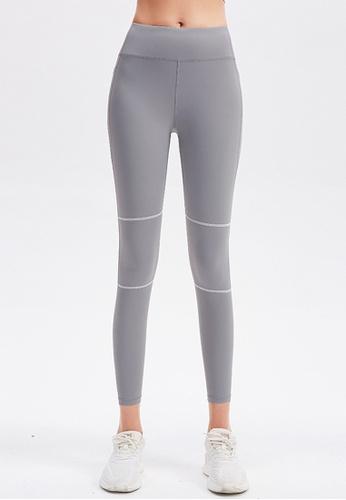 Trendyshop grey High-Elastic Fitness Leggings E2AE5US20E92BDGS_1