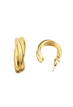 18K Gold Plated Luna Earrings