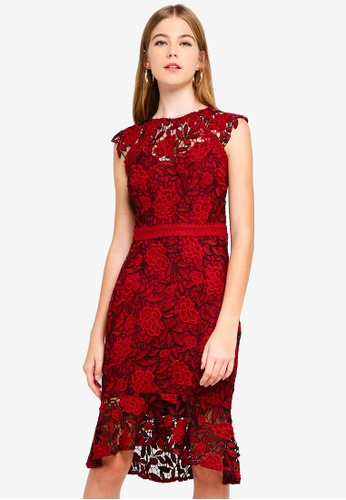 20f22f8b006e Buy Lipsy Floral Lace Dress Online on ZALORA Singapore