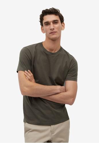Mango Man green Sustainable Cotton T-Shirt CCA45AA7CB587FGS_1