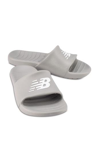 New Balance grey 100 Lifestyle Sandals 9CFA5SH5D51805GS_1