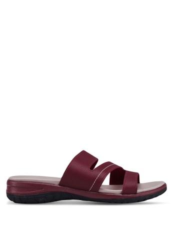 Bata 紅色 懶人涼鞋 4632ESHFE3FA9FGS_1