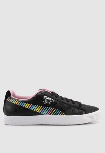 1c54a3a457e Puma Select black and multi PUMA x BRADLEY THEODORE Clyde Sneakers  0176CSH21C1AF2GS 1