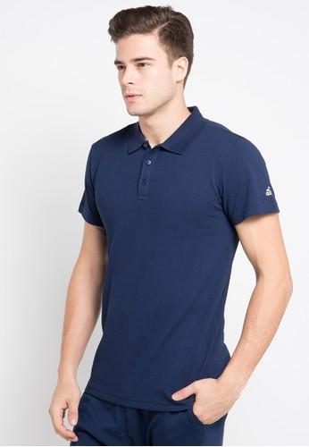 adidas navy adidas essentials classics polo shirt AD349AA0U8Z5ID_1