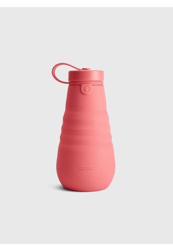 Stojo stojo bottle, 20oz / 590ml, Coral 192FBHLDCDB2EEGS_1