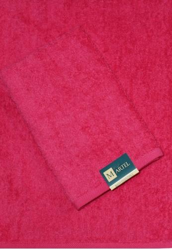 Martel pink Martel Basic Sweat Towel D3AA3HL62F3CD7GS_1
