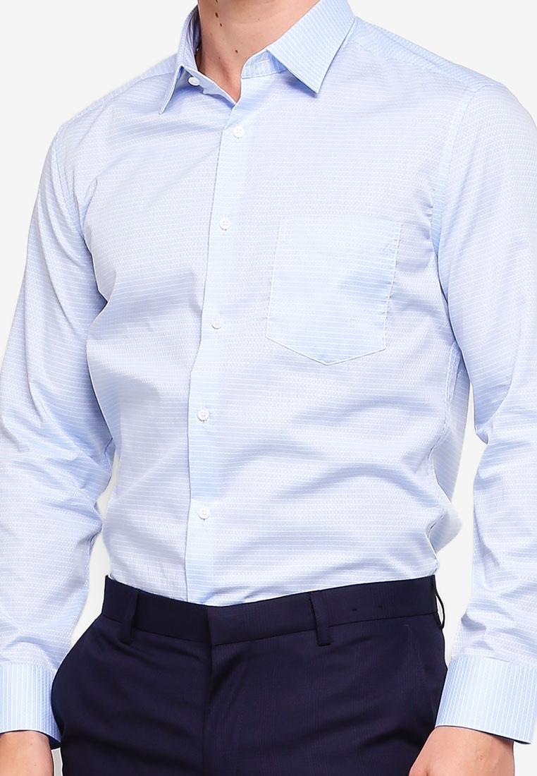 G2000 Shirt Marina Cross Sleeve Long Cotton Criss 4fqTx