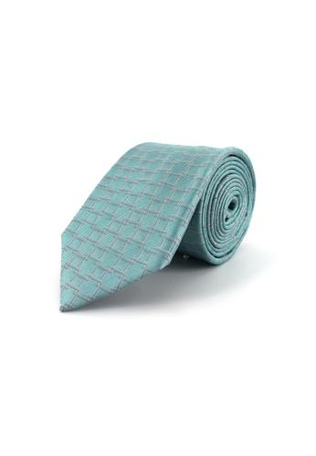Gay Giano blue Classic Geometric Silk Tie DCBB4ACB8894E1GS_1