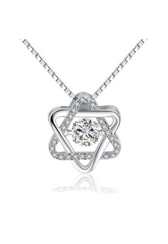 LYCKA silver LPP88026 S925 Silver Necklace 029A9ACC44E0A5GS_1